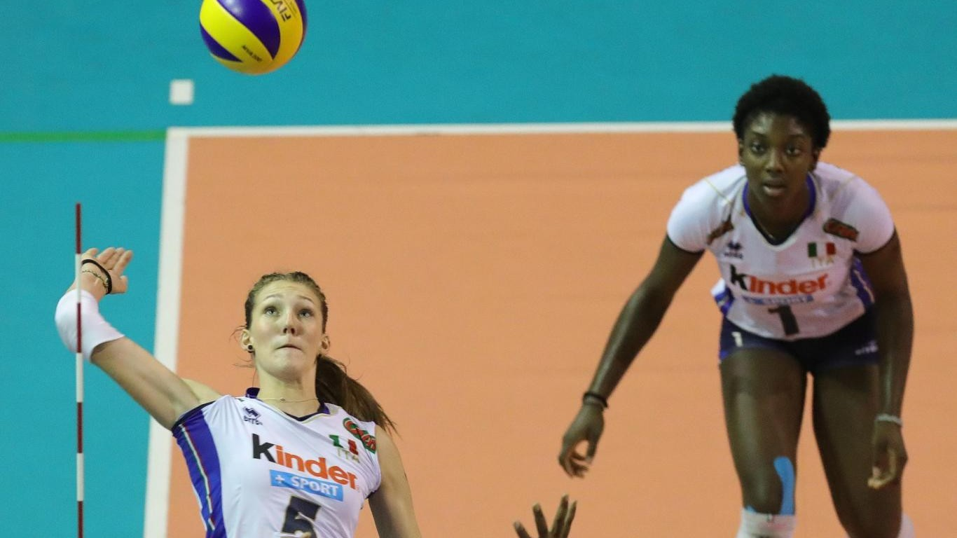 Europei di volley femminile, esordio ok: 3-0 alla Georgia
