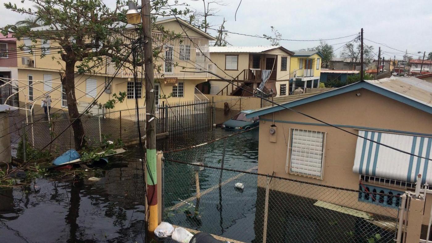 Uragano Maria, diga a rischio crollo: villaggi evacuati a Porto Rico