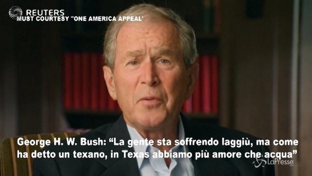 I presidenti USA per aiutare la popolazione colpita dagli uragani