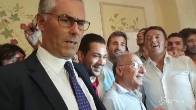 Renzi a Taormina lancia la candidatura di Micari a governatore della Sicilia