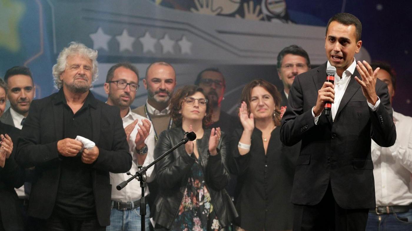 M5S, Di Maio candidato premier. Fico il 'romantico' e Beppe il papà