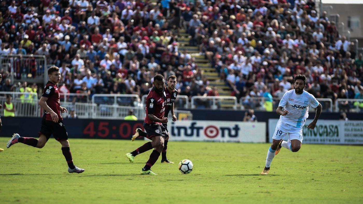 Serie A, colpo Chievo a Cagliari: decidono Inglese e Stepinski
