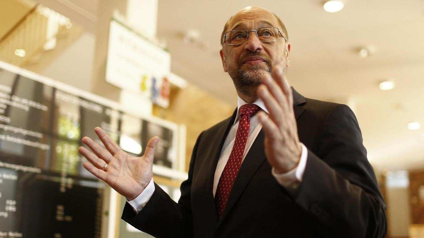 """Germania, Schulz: """"Spd sarà opposizione forte, difenderemo democrazia"""""""