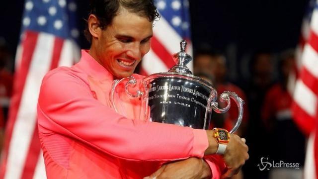 Tennis: Rafa Nadal re degli Us Open