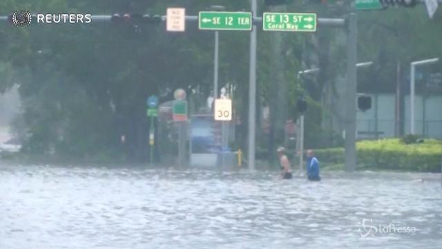 Irma si abbatte sulla Florida