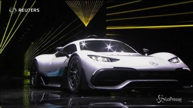 Mercedes Amg presenta Project One, la Formula 1 da strada