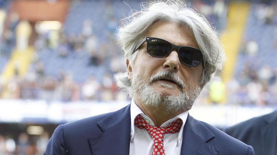 """Samp, Ferrero punge il Milan: """"Ha speso 200 milioni e mai tirato in porta"""""""