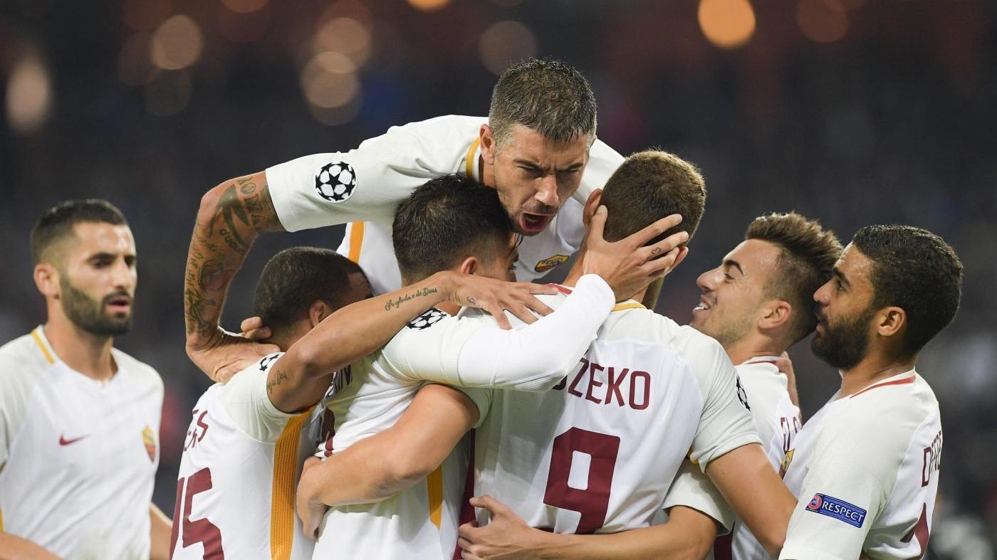 Champions League, Roma corsara in Azerbaigian: Qarabag ko 2-1