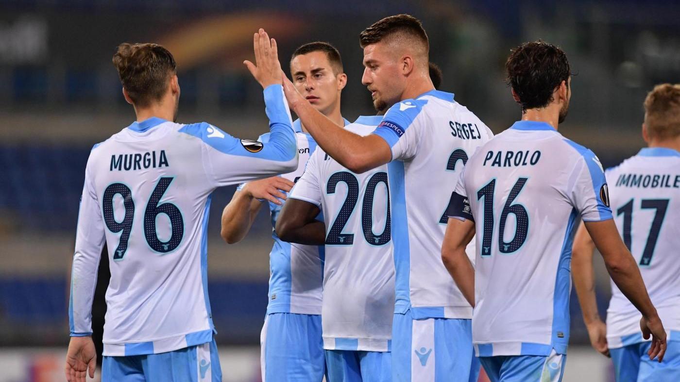 Europa League, Caicedo-Immobile stendono lo Zulte: la Lazio vola