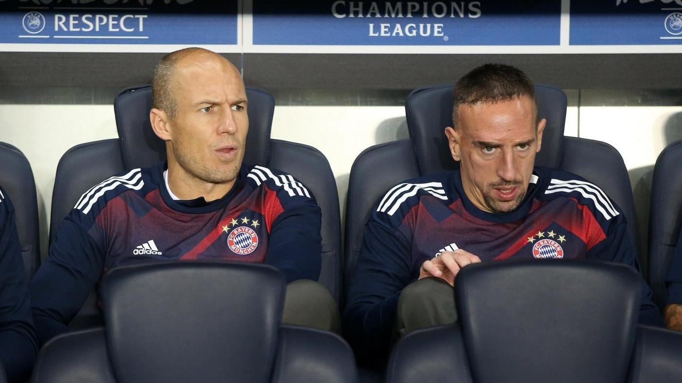 Da Robben a Ribery: ecco i nomi dei giocatori 'anti-Ancelotti'