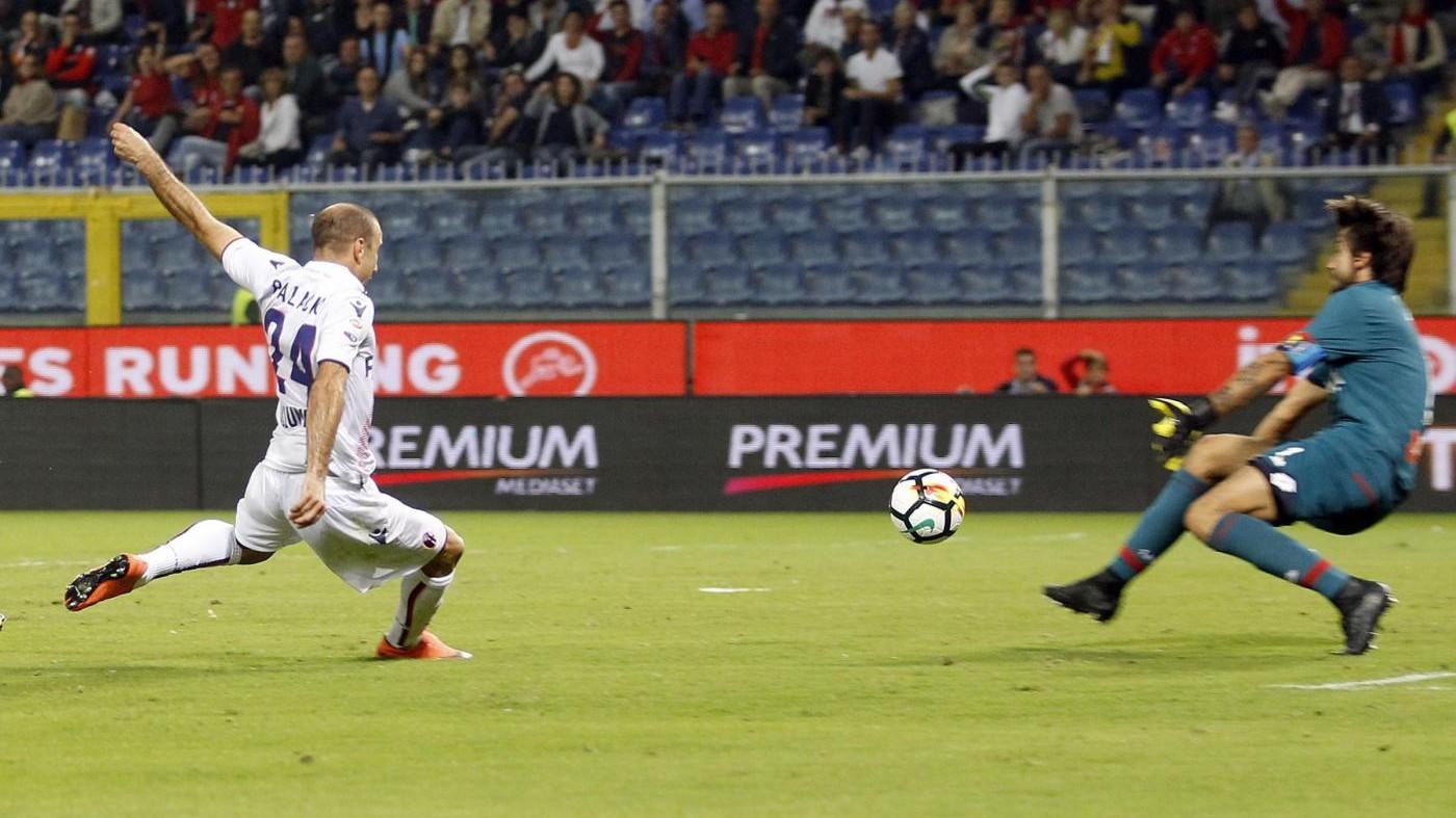 Serie A, l'ex Palacio condanna il Genoa: Bologna corsaro a Marassi