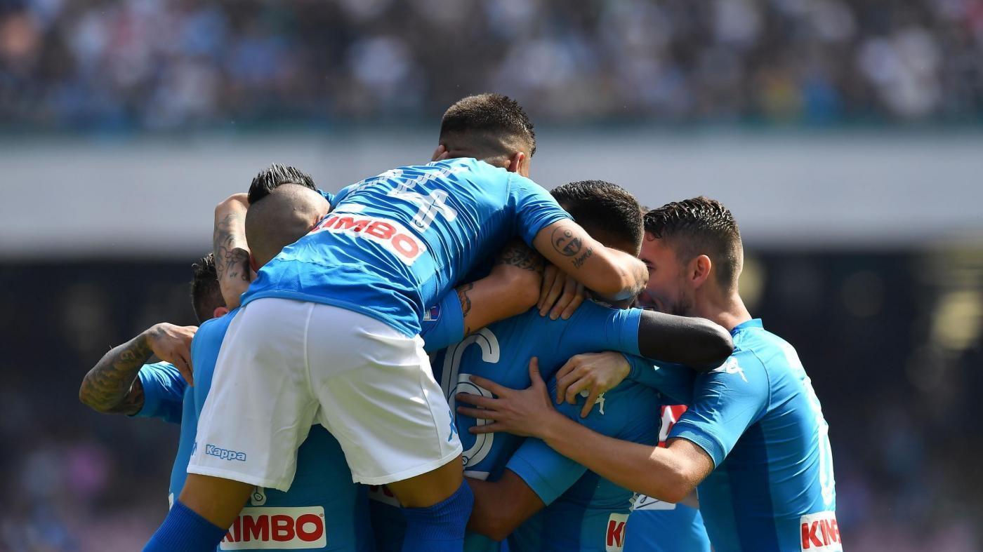 Serie A, Napoli cala il tris: al San Paolo è 3-0 al Cagliari