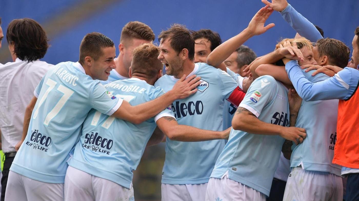 Serie A, Lazio a valanga: Sassuolo travolto 6-1 in rimonta