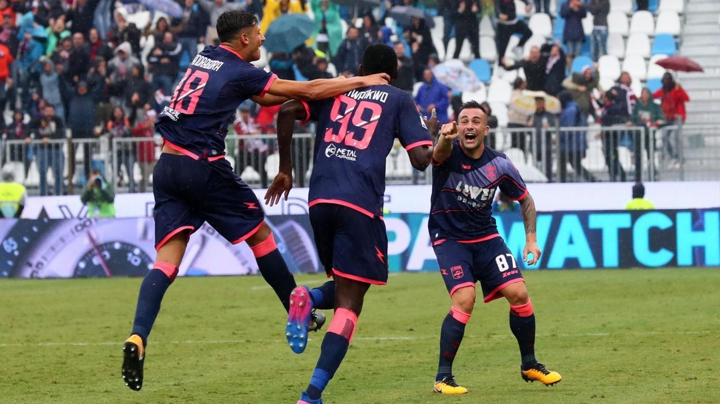 Serie A, Simy replica a Paloschi: Spal-Crotone 1-1
