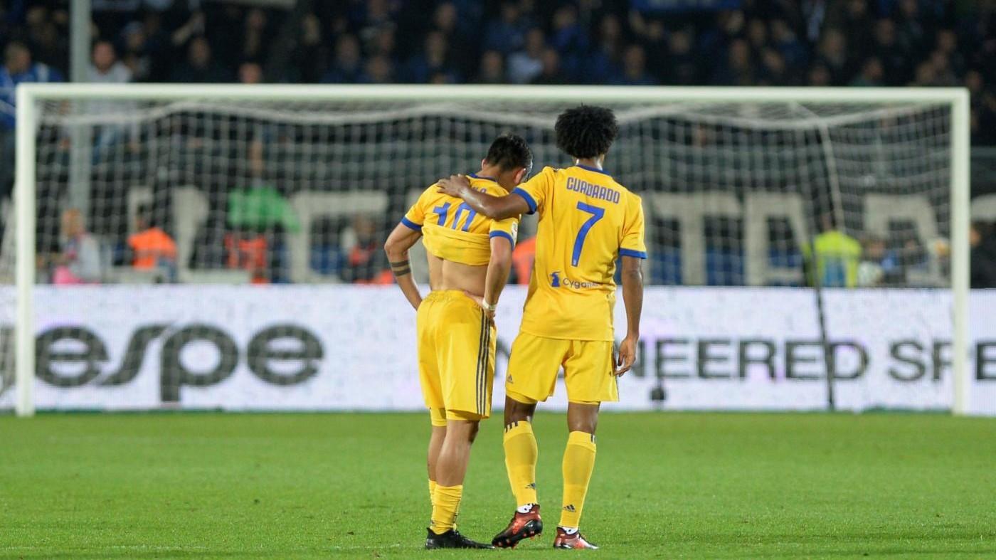 Serie A, Atalanta-Juventus 2-2: Caldara-Cristante, salta settebello bianconero
