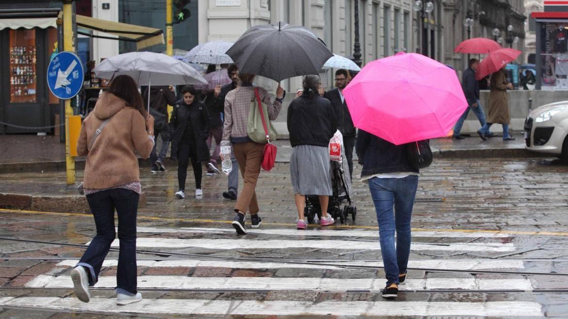 Piogge e nubi sull'Italia: il meteo del 2 e 3 ottobre