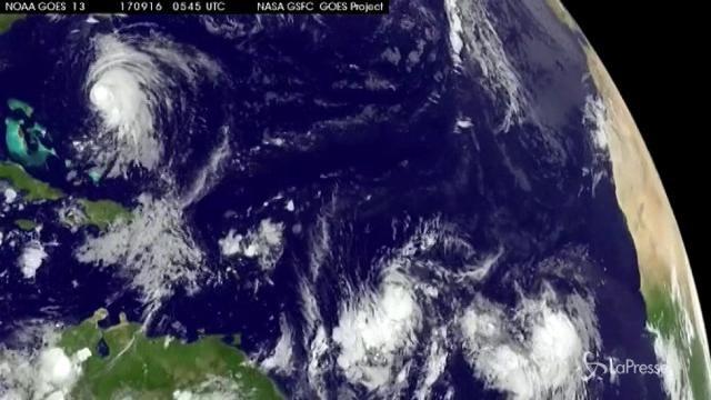 Caraibi, altro tifone: dopo Irma arriva Maria
