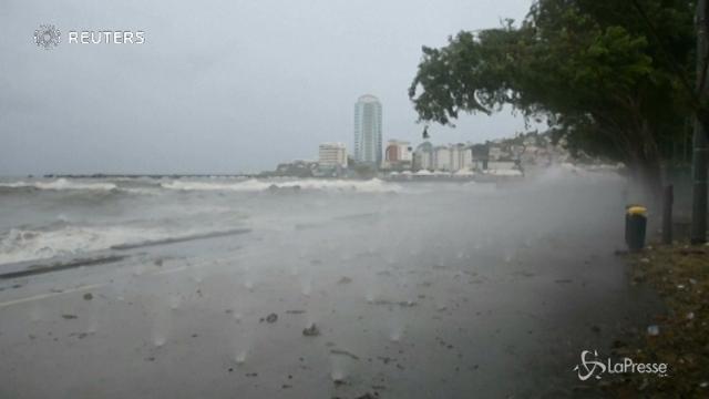L'uragano Maria raggiunge Portorico
