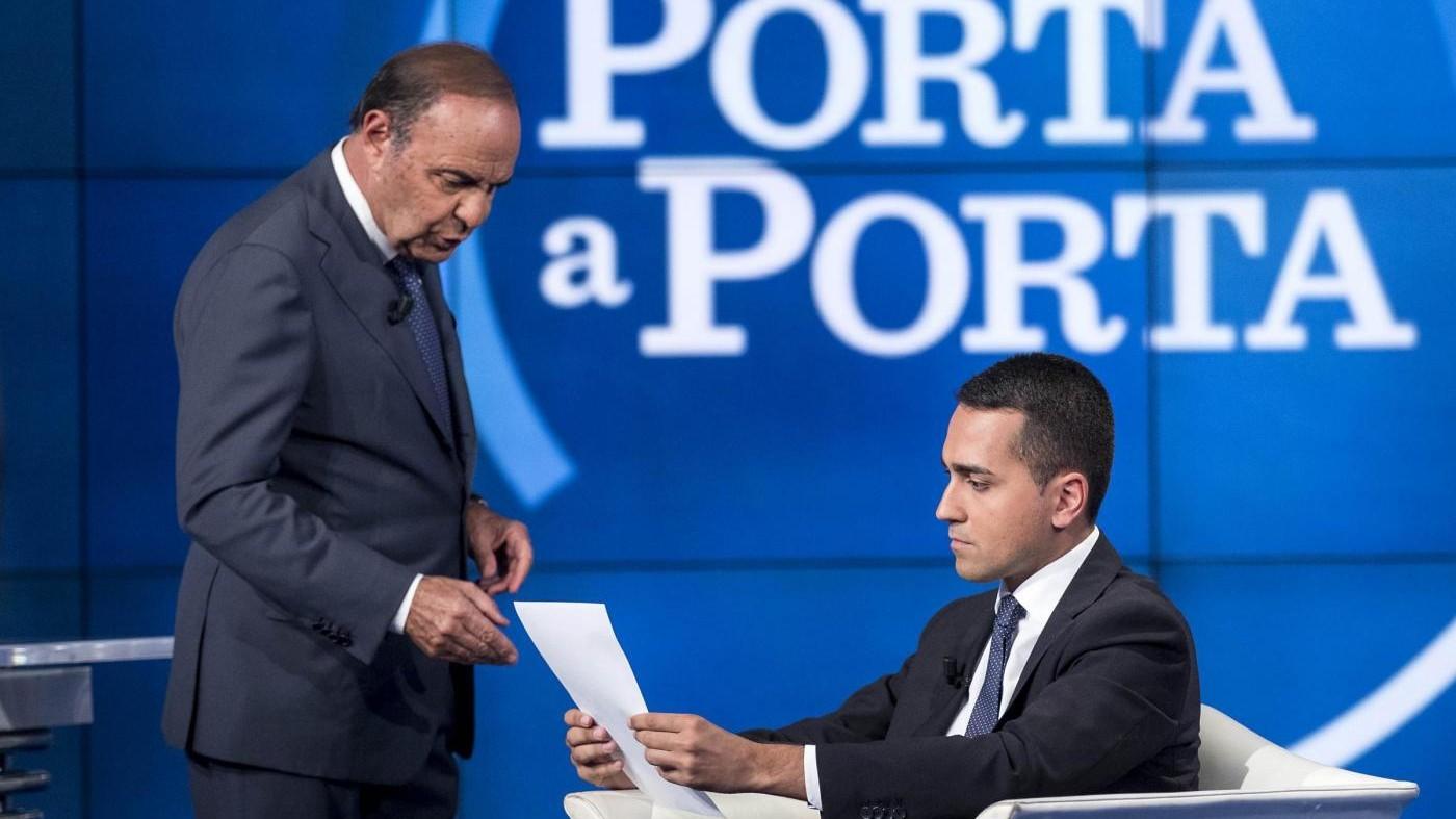"""Rai, Fico: """"Vespa guadagna troppo, escludere Porta a Porta da campagna elettorale"""""""
