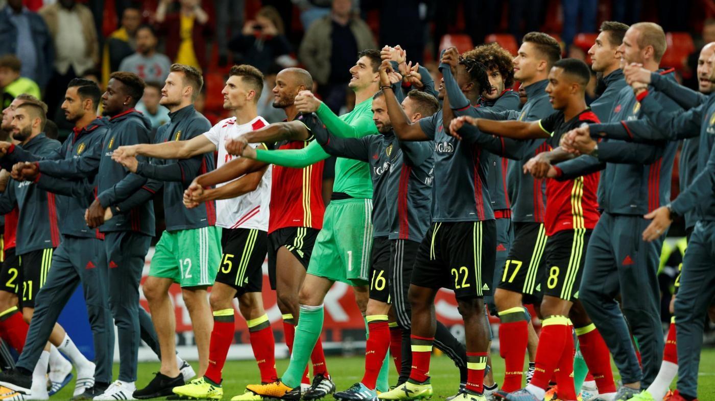 Mondiali di Russia, solo il Belgio è sicuro. Weekend decisivo per tante