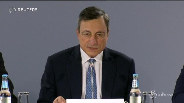 Bce conferma la ripresa: Pil 2017 a +2,2%
