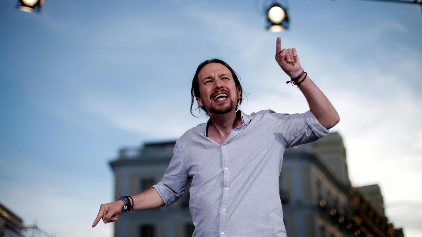 """Catalogna, Podemos: """"Re non è neutrale, Spagna da rifondare"""""""