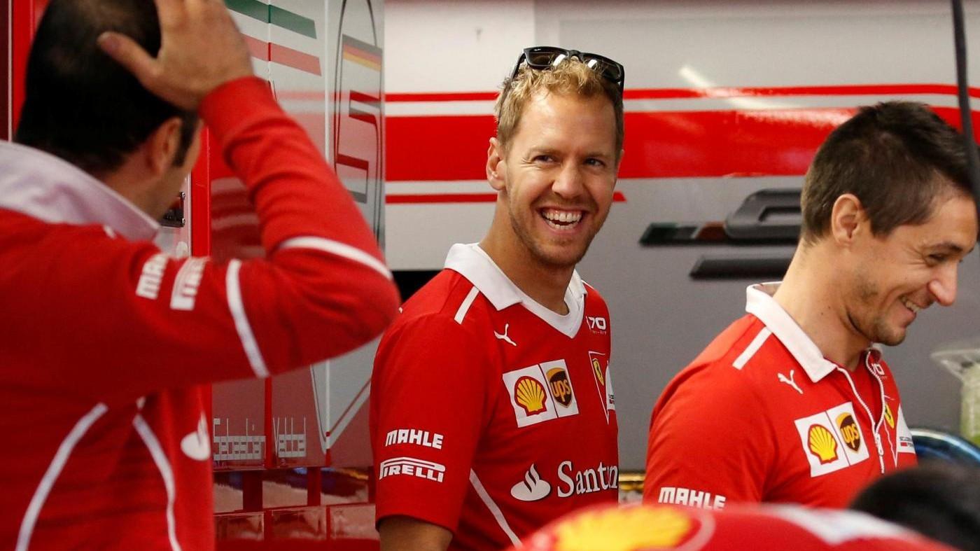 """F1, Vettel: """"Abbiamo ancora chance mondiale, ma non dipende solo da noi"""""""