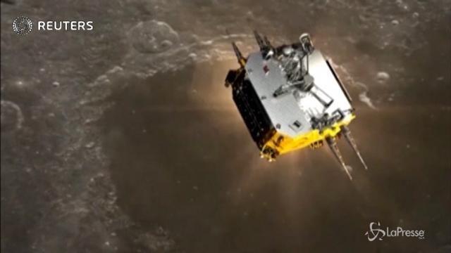 Cina, proseguono i preparativi per la missione lunare Chang'e 5
