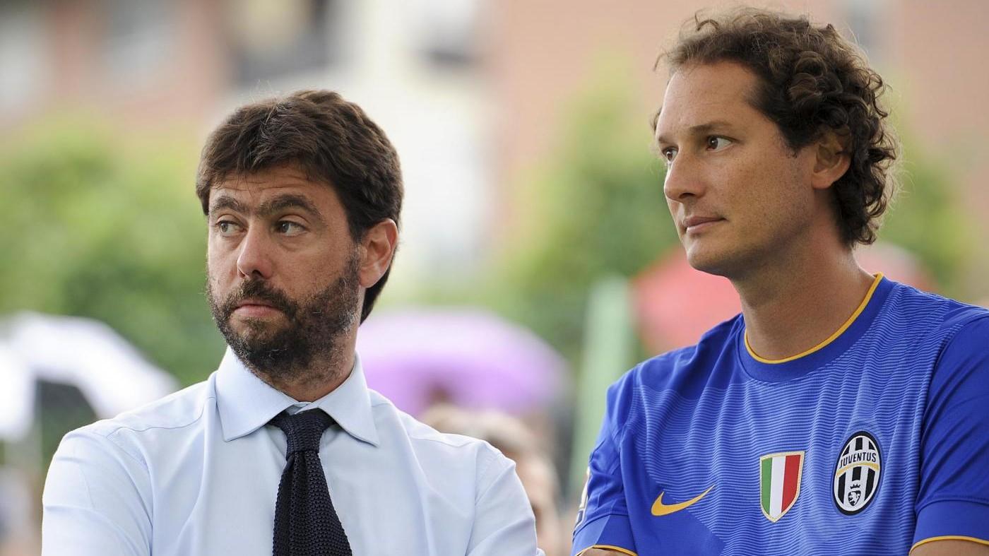 """Juve, Elkann: """"Andrea Agnelli? Totale fiducia nel suo operato"""""""