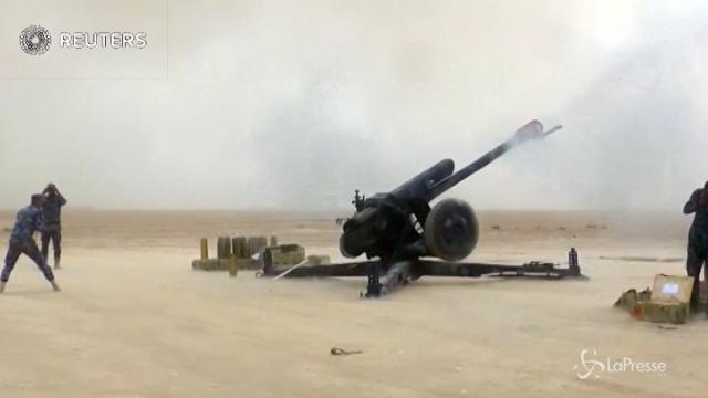 L'avanzata dell'esercito iracheno contro l'Isis