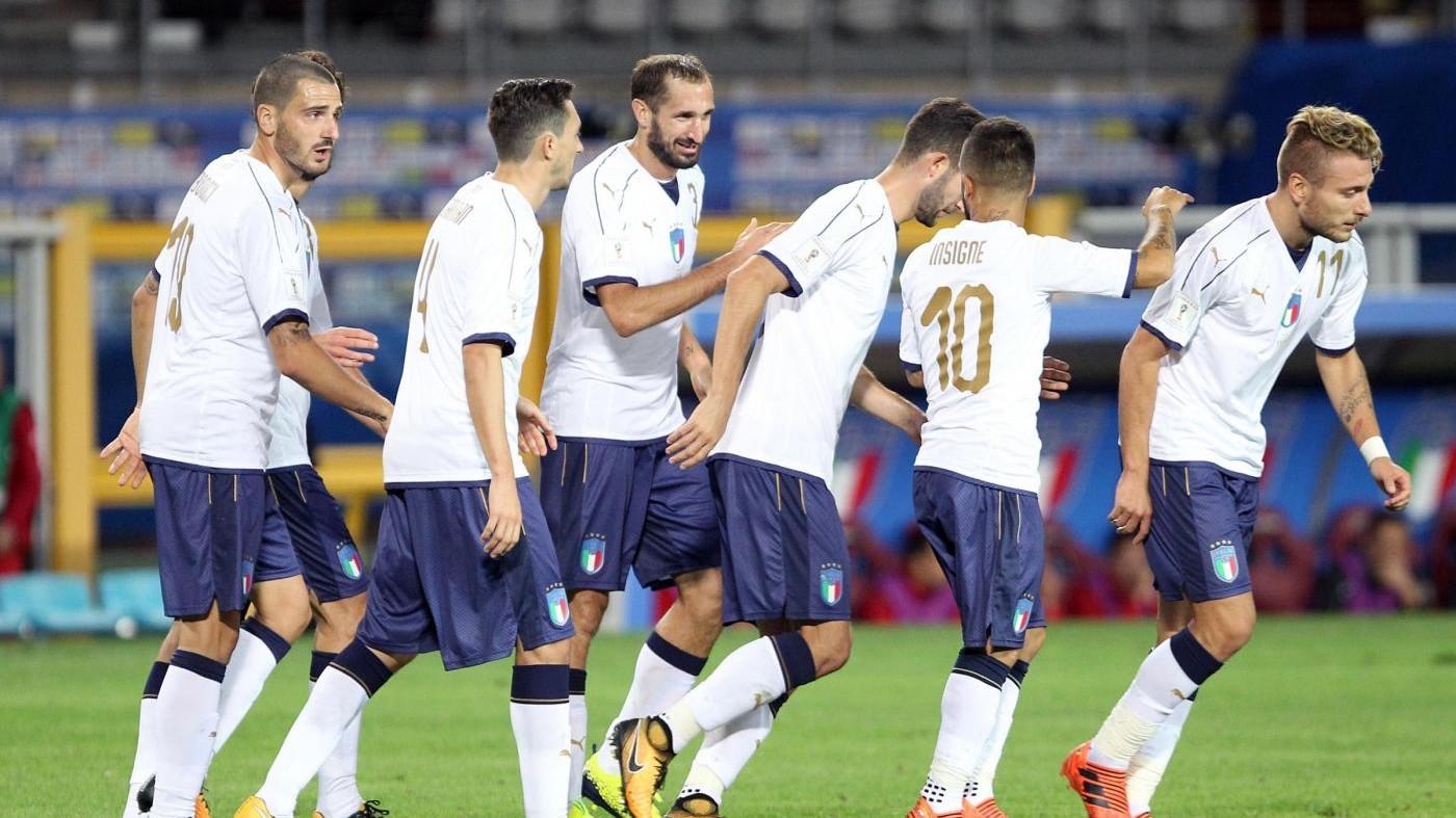 Qualificazioni Mondiali: brutta Italia, 1-1 con la Macedonia e playoff a rischio
