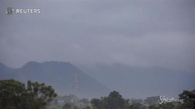 Bali: massima allerta per eruzione del vulcano Agung