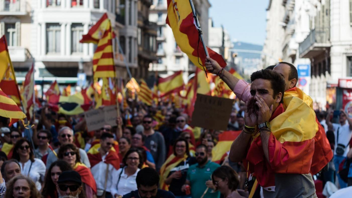 """Catalogna, Rajoy: """"Faremo tutto il necessario contro indipendenza"""""""