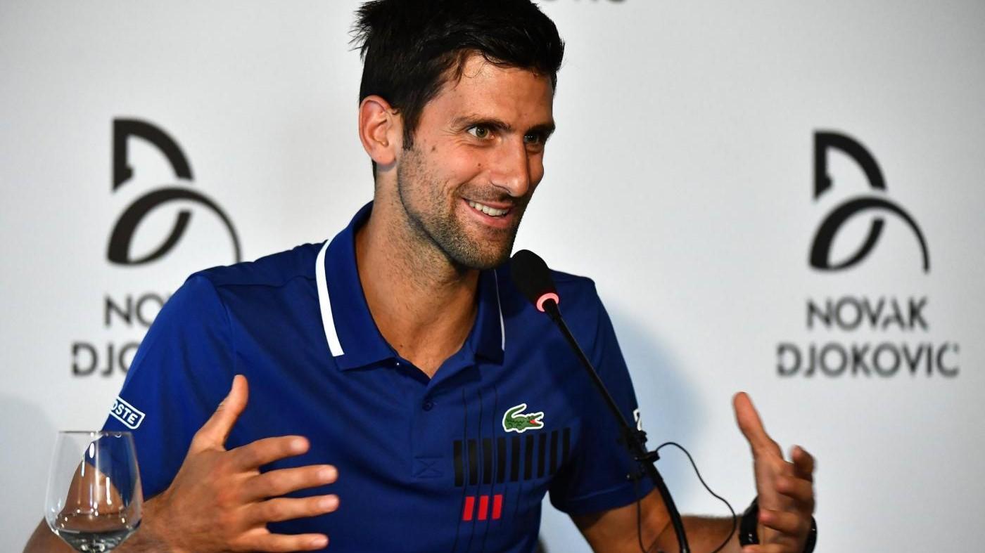 Djokovic solidale: il tennista apre un ristorante in Serbia per le persone bisognose