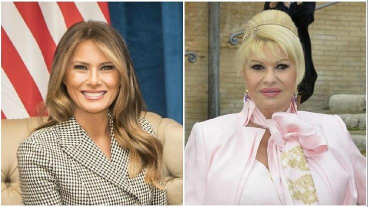 """""""Sono io la first lady"""". Guerra per il ruolo tra Ivana e Melania Trump"""
