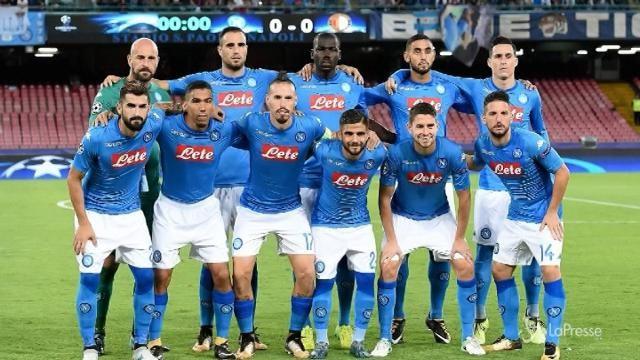 Champions League: il Napoli supera 3-1 il Feyenoord