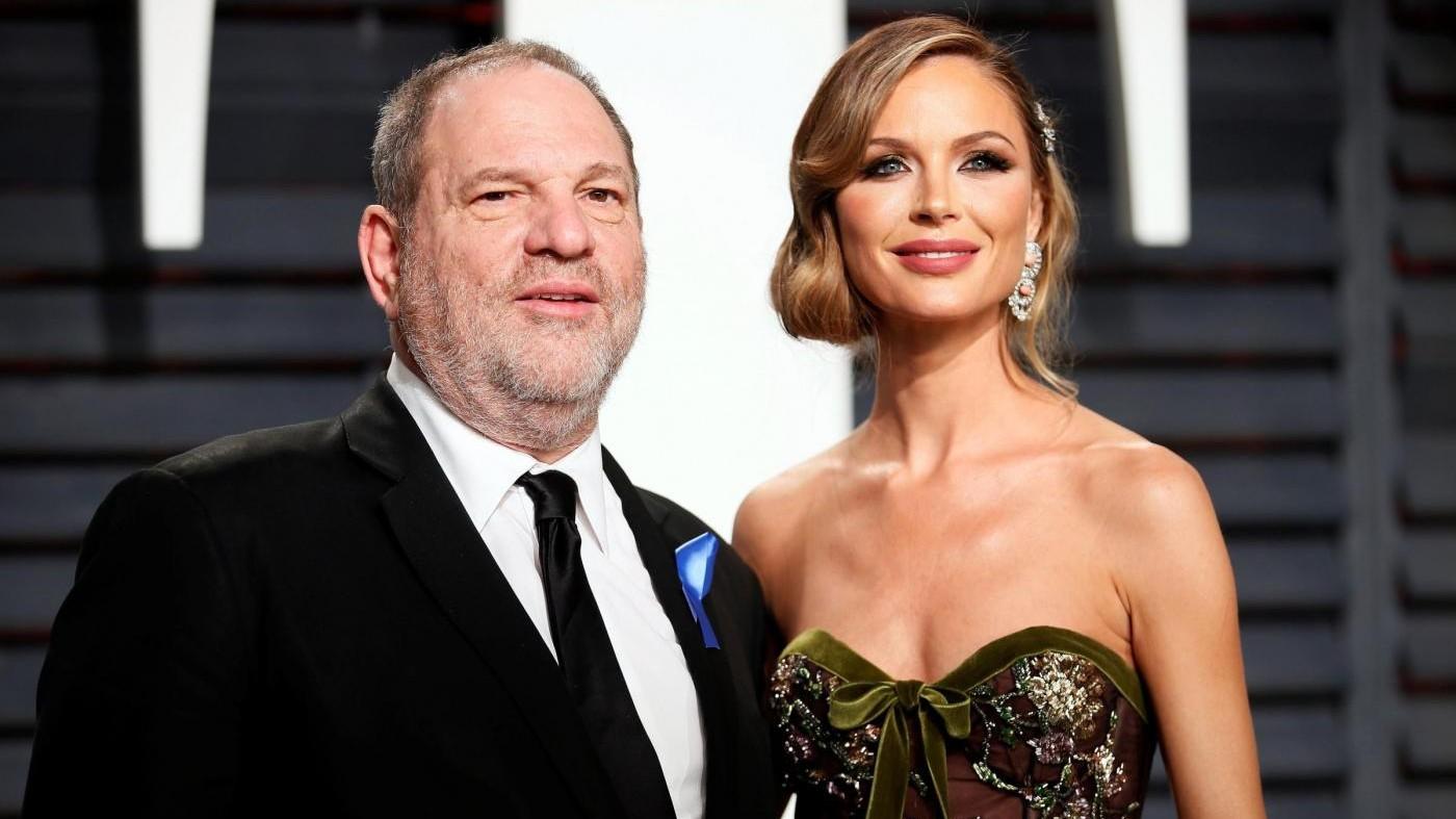 """Caso Weinstein, la moglie Georgina: """"Azioni imperdonabili, lascio mio marito"""""""