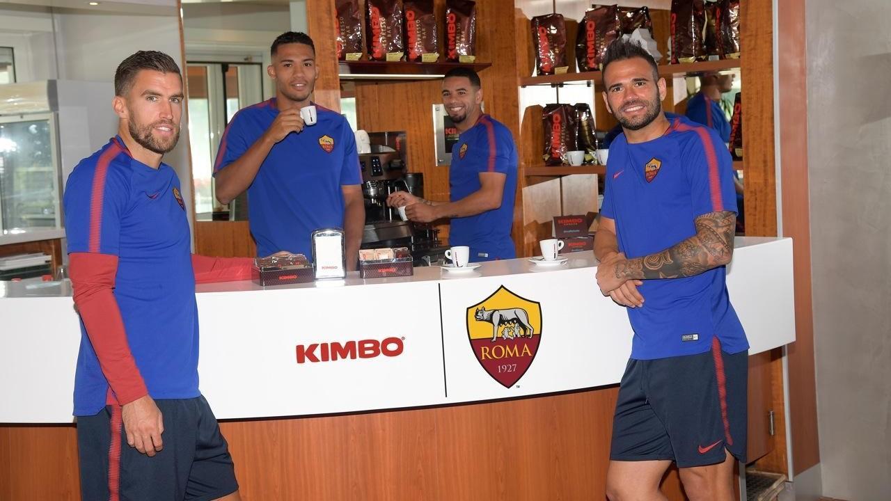 Kimbo sarà Official Coffee Partner della Roma fino al 2020