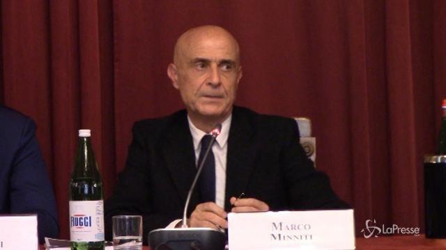 """VIDEO Minniti: """"Il modello Italia funziona contro terrorismo"""""""