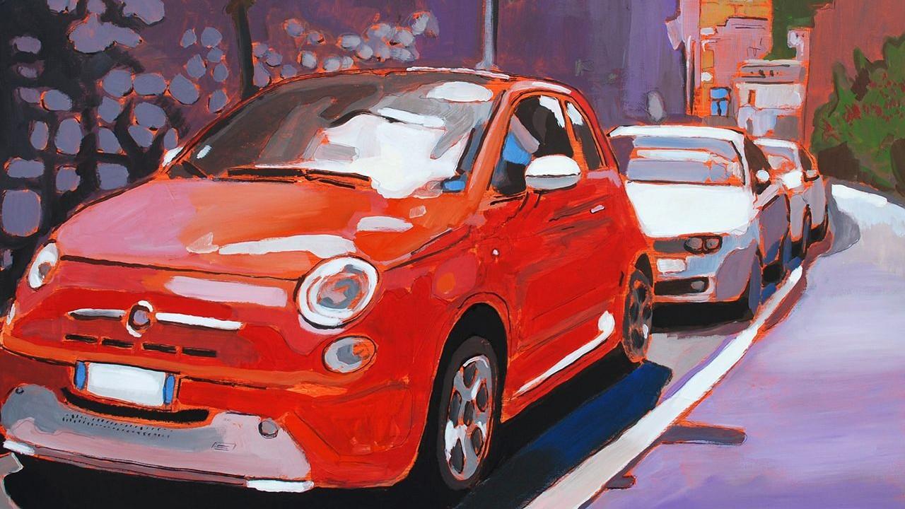 La Fiat 'Cinque100' alla Mirafiori Galerie di Torino