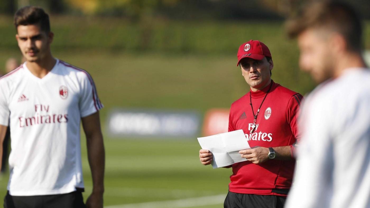 Verso Inter-Milan: Montella senza Kalinic, spazio ad André Silva