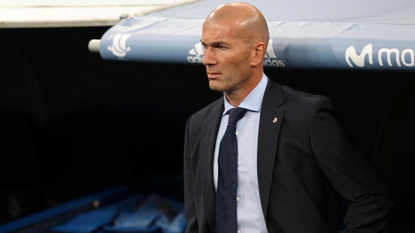 "Real Madrid, Zidane sicuro: ""Io al Barça? No, ho il cuore Blanco"""