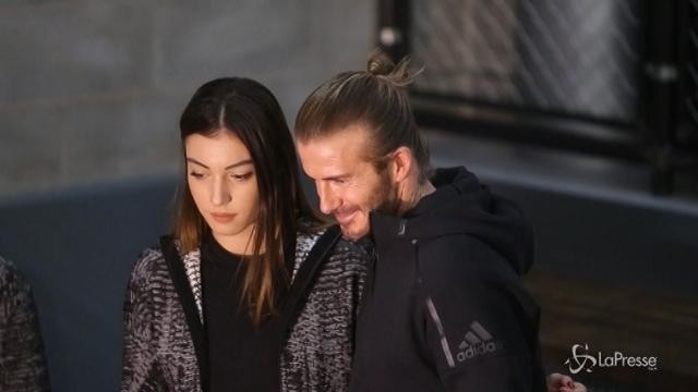 David Beckham a Milano per inaugurare il nuovo store Adidas