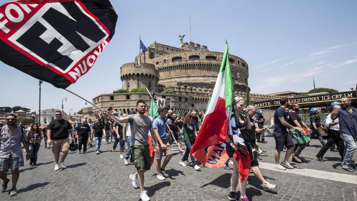 Vietata la 'marcia su Roma' di Forza Nuova: lo stop dalla questura
