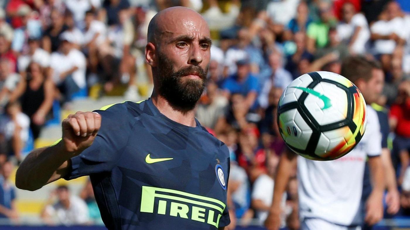 "Inter-Milan, Borja Valero: ""Sarà un derby intenso"". Montella perde Kalinic"