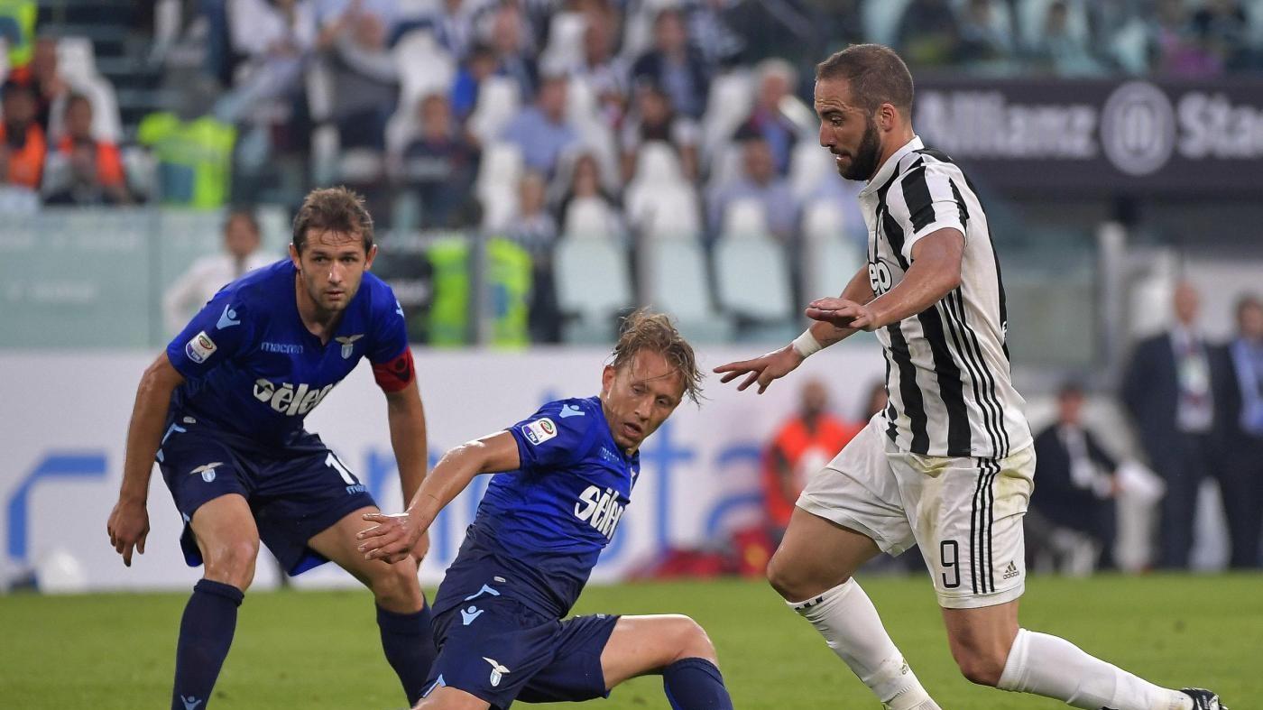 Serie A, le pagelle di Juventus-Lazio 1-2: Immobile top, Higuain flop