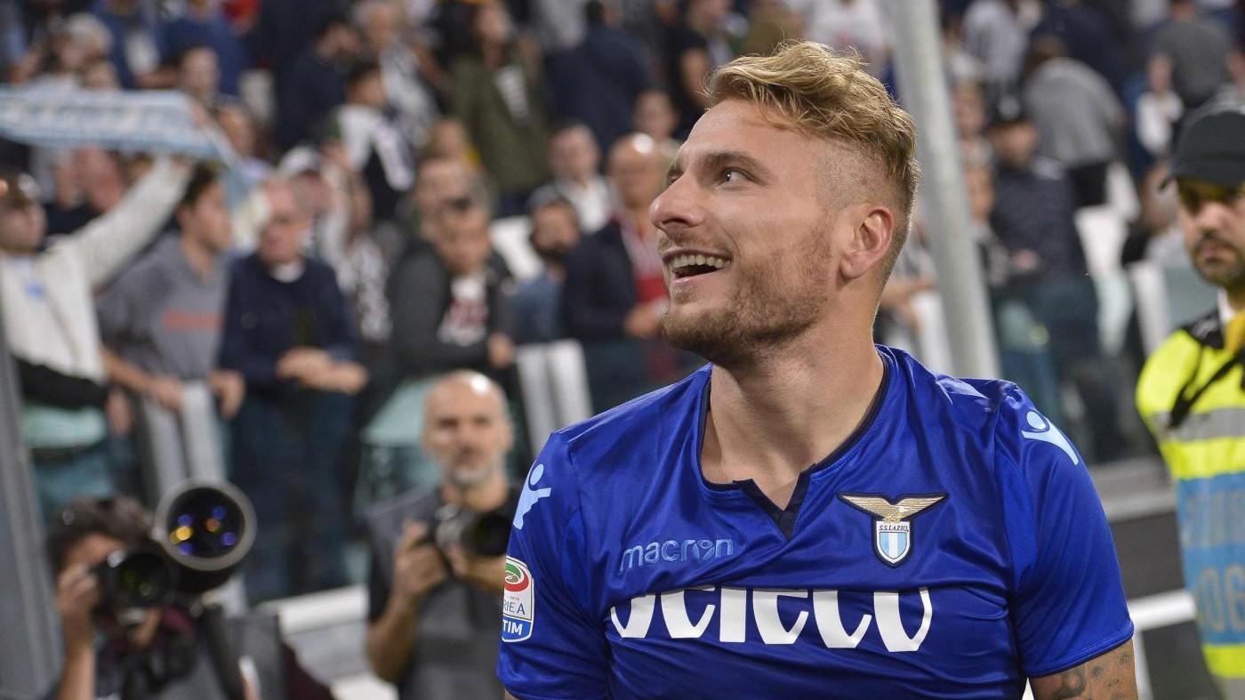 """Lazio, Immobile: """"Partita eccezionale, battere Juve spinta in più"""""""