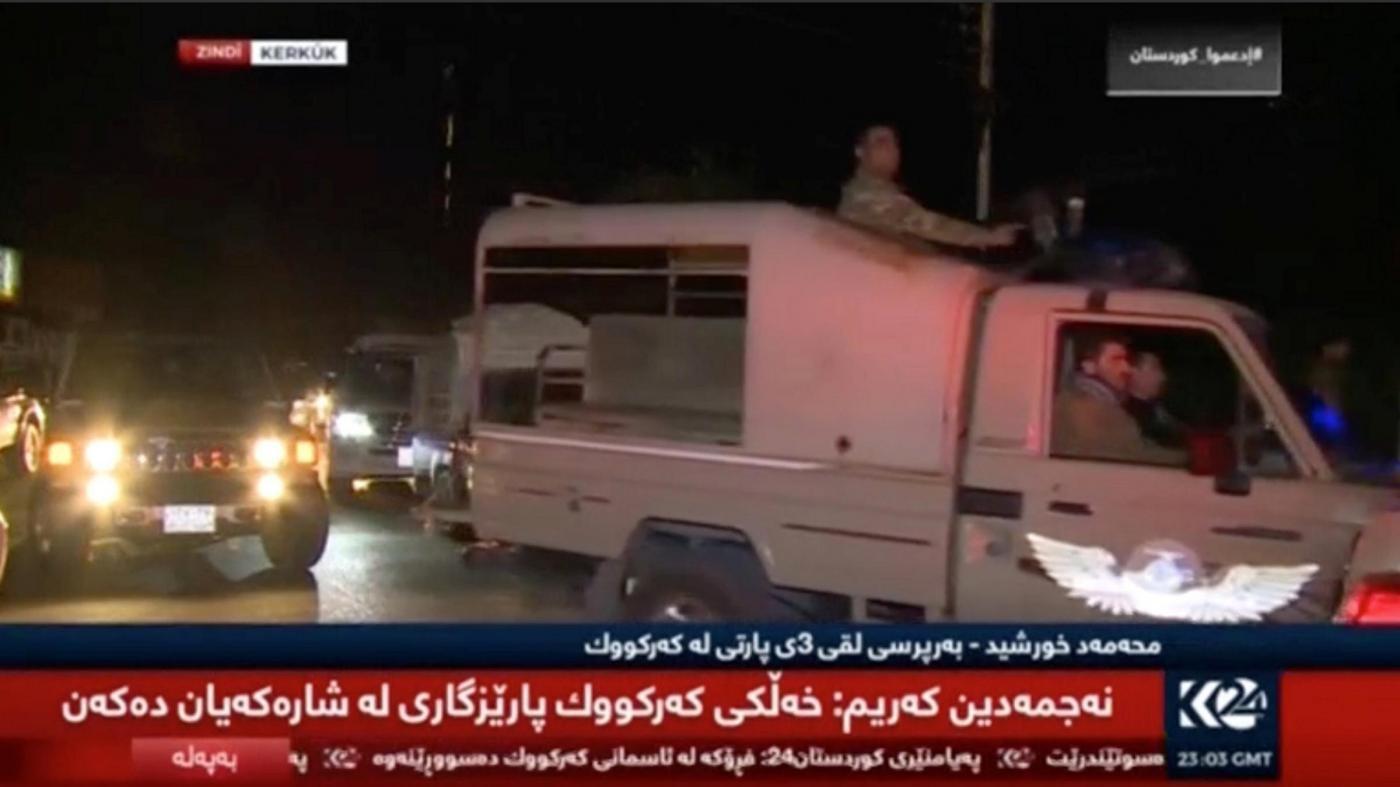 Iraq, le forze di Baghdad prendono il controllo di Kirkuk: via bandiera curda