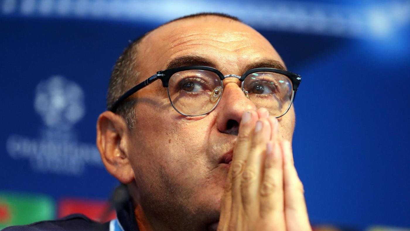 Napoli: Sarri, la Champions e l'esame dal maestro Guardiola