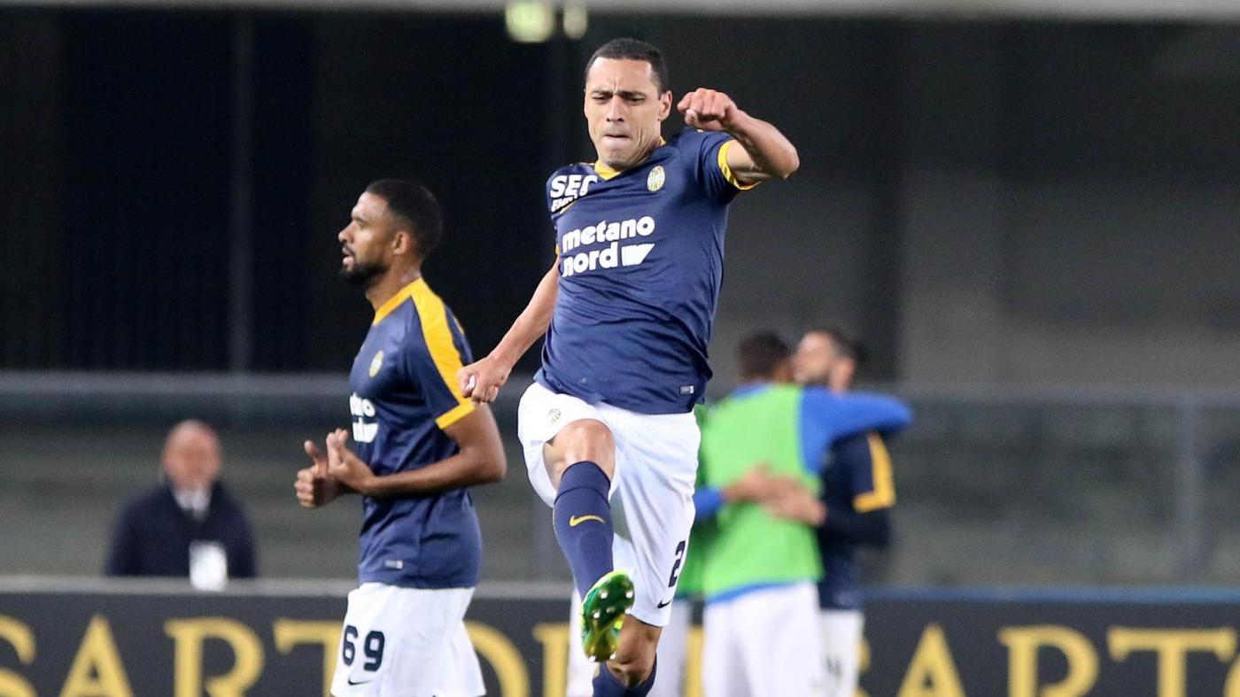 Romulo regala prima vittoria al Verona: Benevento ancora ko